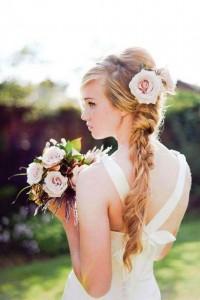 Фото красивой прически невесты