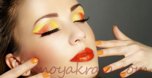 макияж на лето