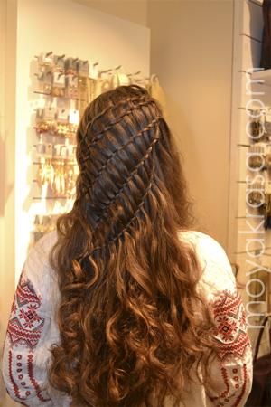 Фото 1 прически с завитыми волосами