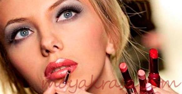 как увеличить губы с помощью макияжа?