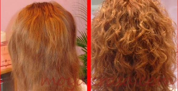 восстановление волос после химической завивки