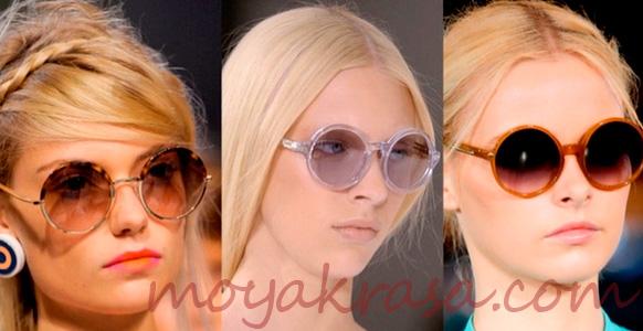 модные солнцезащитные очки сезона 2015