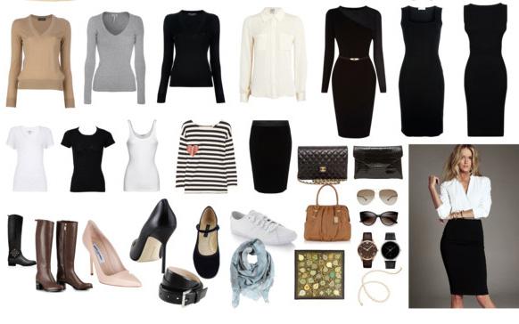 базовый гардероб современной женщины