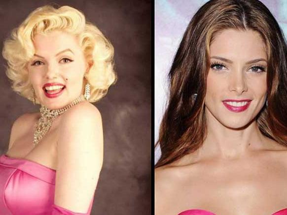 макияж к розовом платью