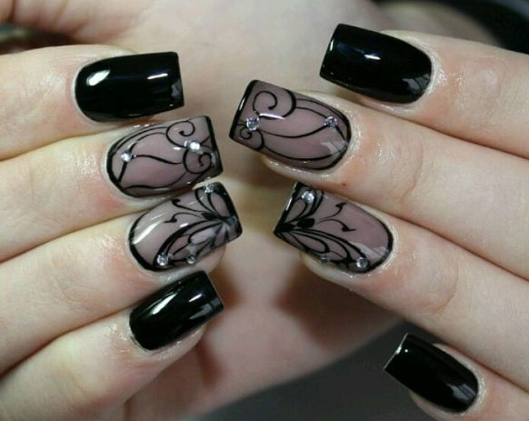 дизайн ногтей гель-лаком 7