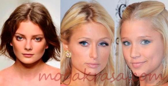 макияж для формы глаз