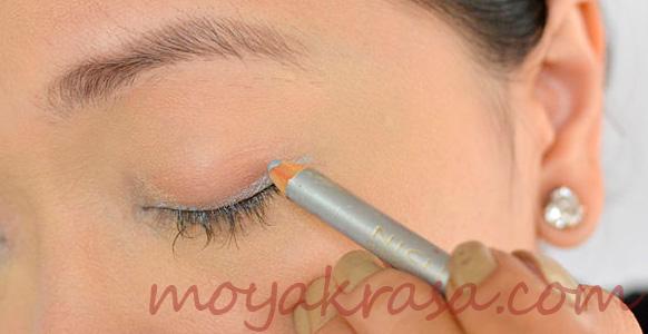 увеличение глаз с помщью макияжа