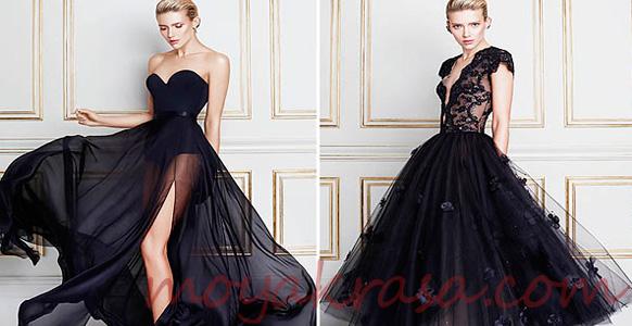 Купить черное свадебное платье
