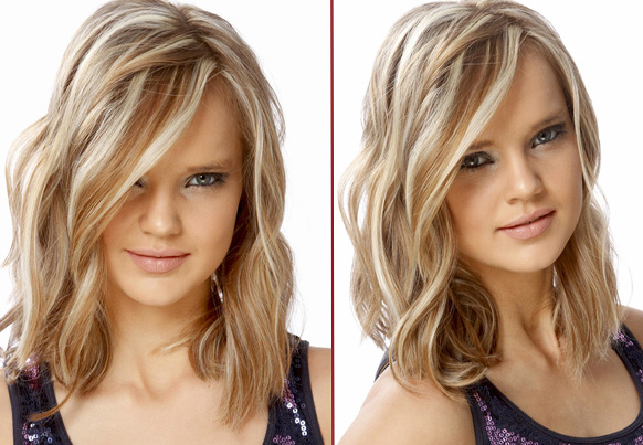 причски на средние волосы