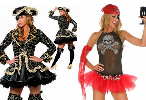 пираты на празднике хэлоиуина