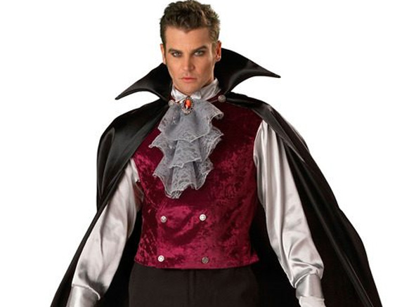 костюм вампира на хэллоуин