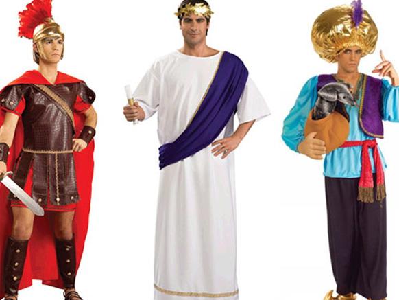 мужчины в косюмах на хэллоуин