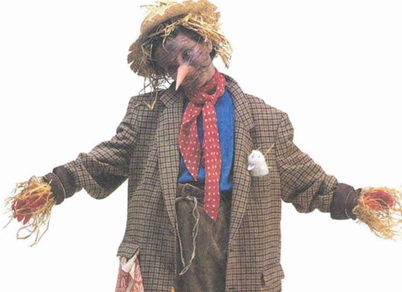 костюм пугала на хэллоуин