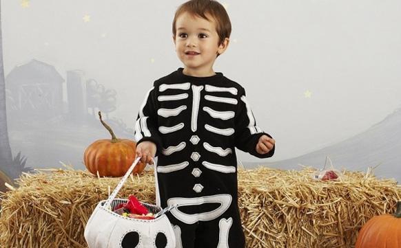 кстюм скелета