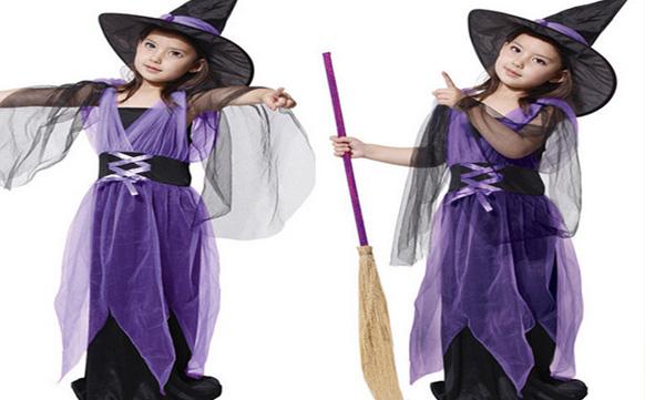 костюм маленькой ведьмочки