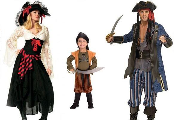 кстюм пирата