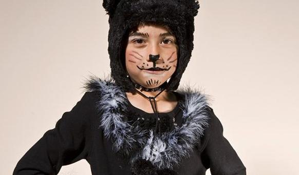 Костюм для черного кота