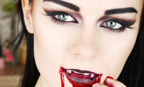 Макияж для хэллоуина своими руками вампирша 13