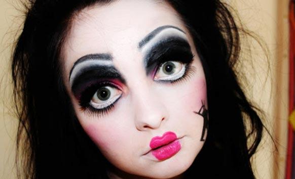 макияж куклы