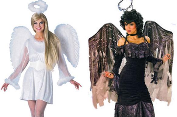 прическа ченого ангела на хэллоуин