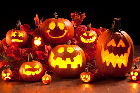 узоры тыквы на хэллоуин