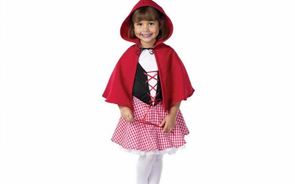 детский костю красной шапочки