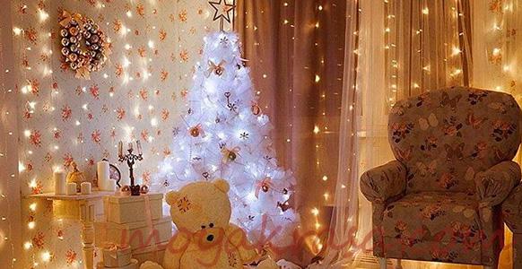 детская комната на новый год