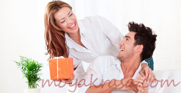 муж и жена празднуют