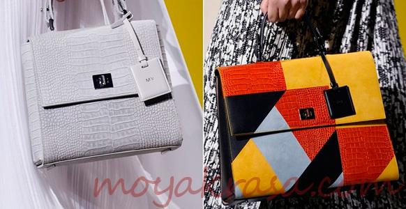 сумки с геометрическим принтом