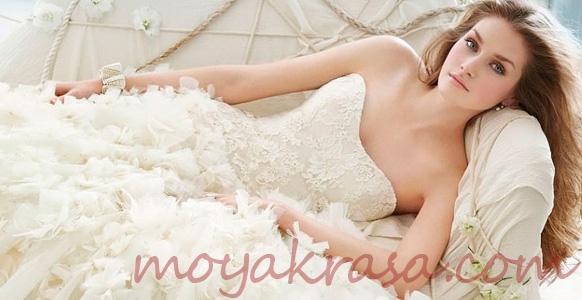 Картинки очень красивое кружевное свадебное платье