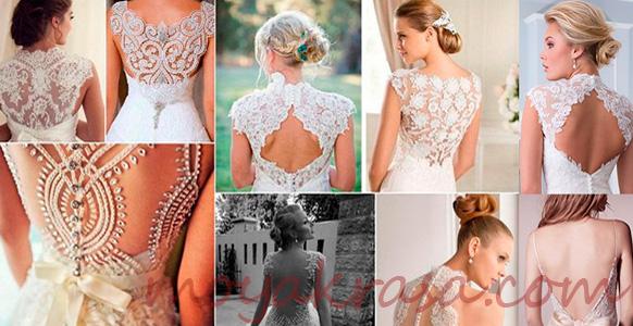 кружво на свадебном платье
