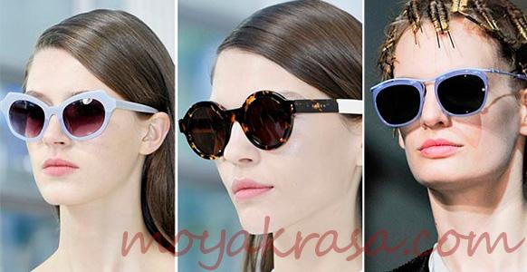 девушки в очках