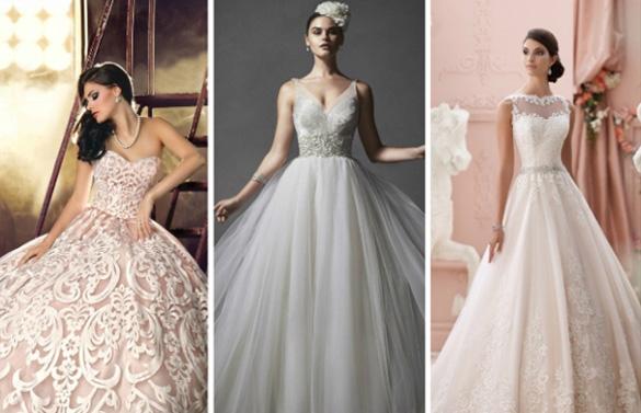 модные платья для невест