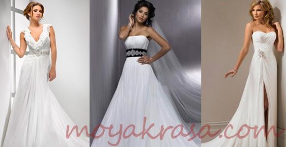 девушки в свадебных платьях