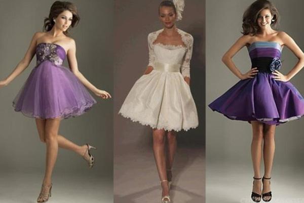 платья многослойные