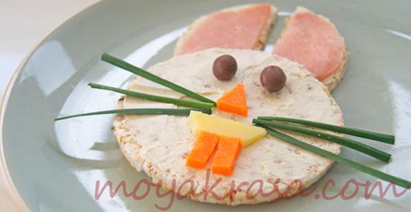оригинальный салат для детейна Хэллоуин