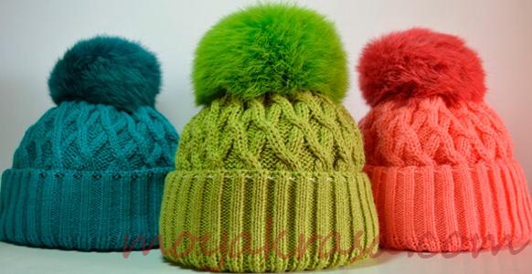 модные цвета женских шапок