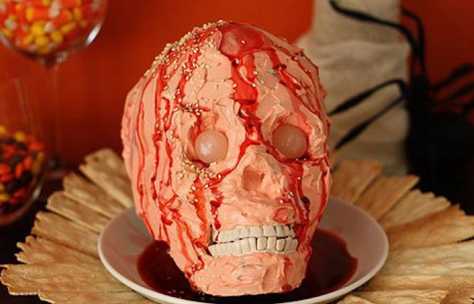 блюдо на Хэллоуин