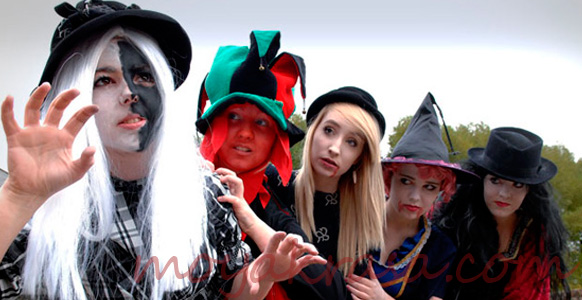 веселая вечеринка на Хэллоуин