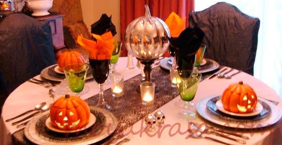 сервировка стола на день всех святых