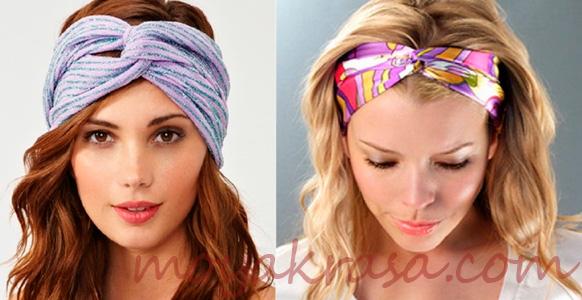 способ повязать платок на голову