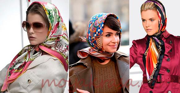 модные головные платки