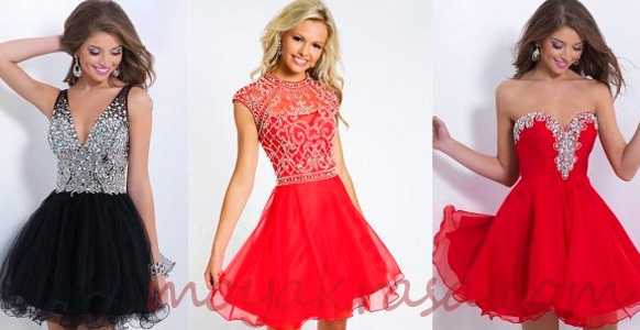 красные платья на новый 2017 год