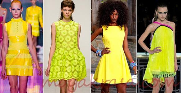 желтые платья на новый 2017 год