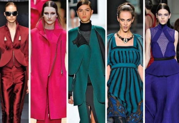 Какие цвета модные будут в 2017 на новый год