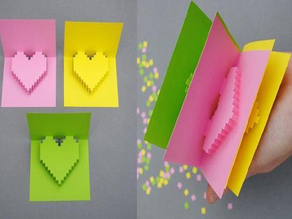 бумажные валентинки