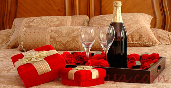 романтический ужин на день влюбленных