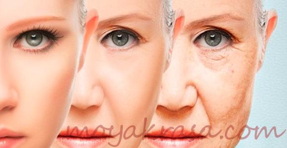 подтяжка кожи лица в домашних условиях