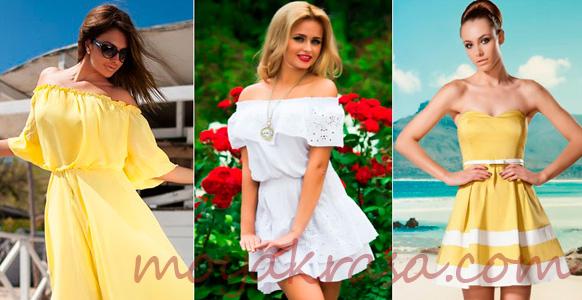 девушки в легких летних платьях