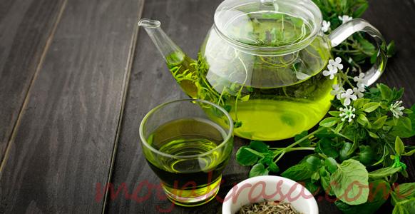 зеленый чай для приготовления масок